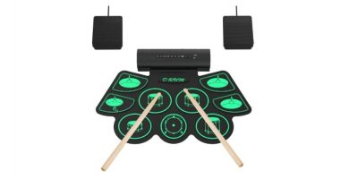 Bateria musical Roll-Up Uverbon