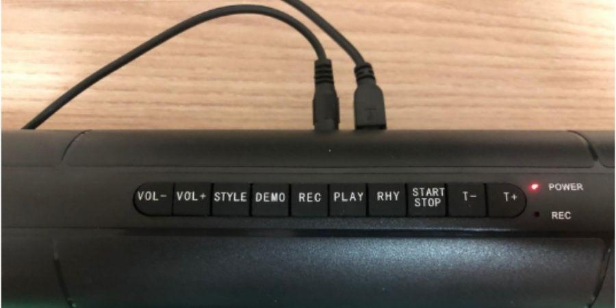 Ubicacion de los Botones Bateria Electronica Roll Up Uverborn