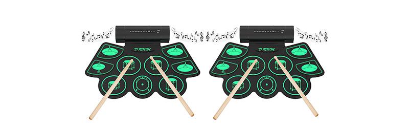 batería portátil digital electrónica para niños Uverbon Rollo Up