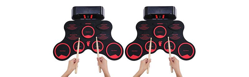 batería portátil digital electrónica para niños ammoon