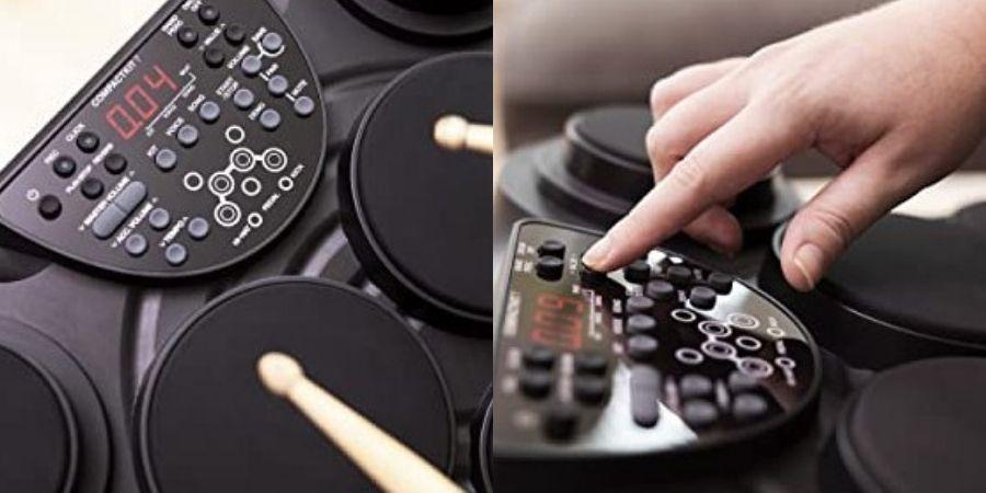 bateria electronica alesis compact kit 7 con modulo drum