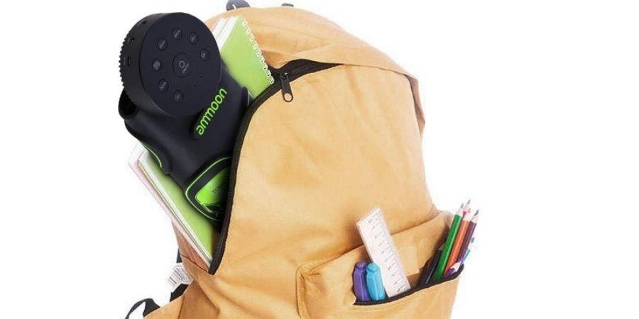 tambor portatil digital ammoon en bolso
