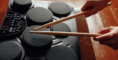conjunto de tambores digitales portatiles