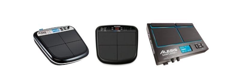 sample pads de baterías electrónicas