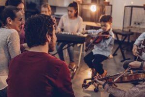instrumentos adecuados y fáciles para los niños
