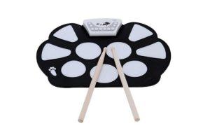 bateria electronica de niños ammoon enrolle drum pad