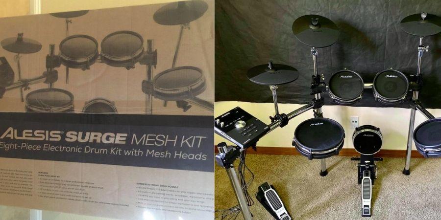 empaque del tambor musical de alesis command mesh para principiantes