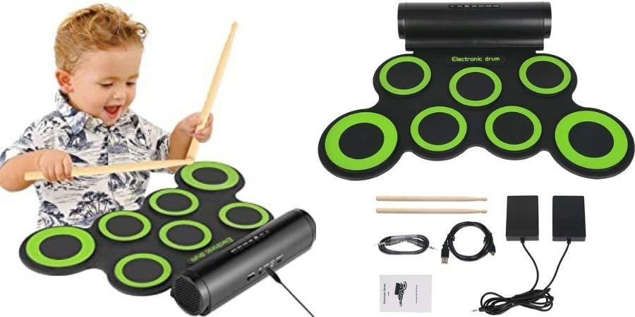 Componentes de la Batería Electrónica Roll Up 7