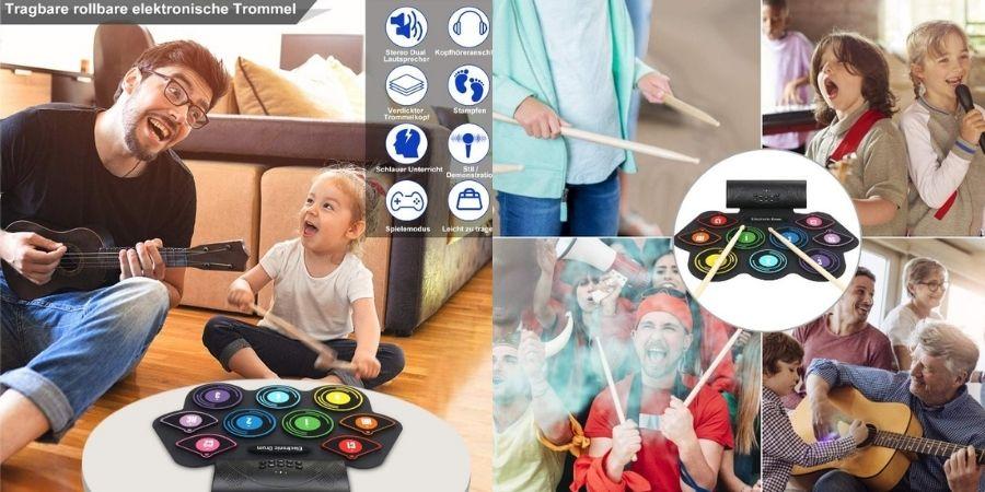 Pasa tiempo de Calidad con tus familiares y amigos usando el Tambor Electrónico Anpro