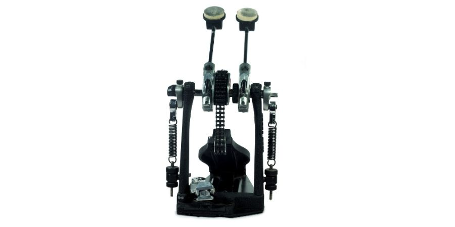 Doble pedal de bombo para batería de percusión eléctrica