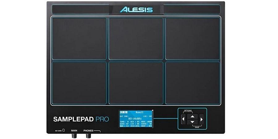 Vista Superior Alesis Sample Pad Pro