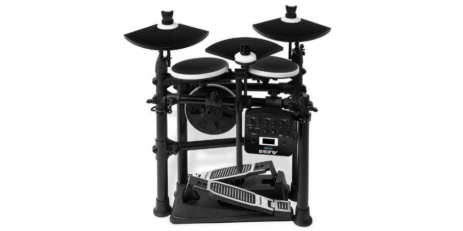 tambor electronico de alesis dm lite kit cuenta con racks plegables