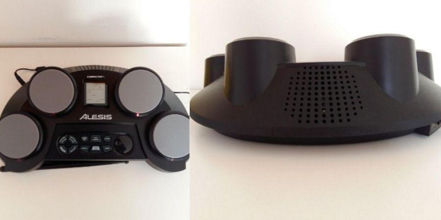 tambor electronico alesis portatil compactkit 4