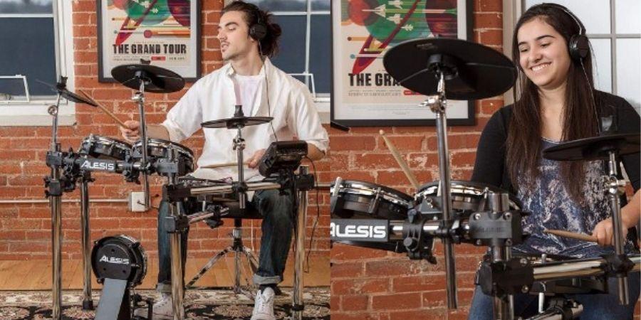 tambor musical surge mesh kit de alesis