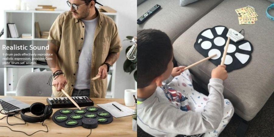 baterias electronicas ammoon para adultos y niños